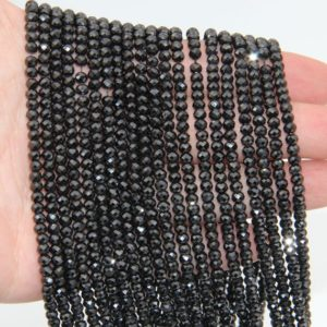 Shop Spinel Faceted Beads! Genuine Spinel Faceted Rondelle Beads,2x3mm/2.5x4mm/3x5mm Semi Precious Stone Beads,Bright Spinel Rondelle Beads,Small Rondelle Gemstone. | Natural genuine faceted Spinel beads for beading and jewelry making.  #jewelry #beads #beadedjewelry #diyjewelry #jewelrymaking #beadstore #beading #affiliate #ad