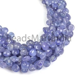 Shop Tanzanite Bead Shapes! Tanzanite Plain Heart Beads, Tanzanite Smooth Beads, Tanzanite Beads, Tanzanite Heart(6-9) Beads, Tanzanite Plain Beads,Blue Tanzanite Beads | Natural genuine other-shape Tanzanite beads for beading and jewelry making.  #jewelry #beads #beadedjewelry #diyjewelry #jewelrymaking #beadstore #beading #affiliate #ad