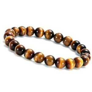 Shop Men's Tiger Eye Bracelets! Beautiful, Simple, Tiger Eye Bracelet (Adjustable), Highly Protective Stone | Natural genuine Tiger Eye bracelets. Buy crystal jewelry, handmade handcrafted artisan jewelry for women.  Unique handmade gift ideas. #jewelry #beadedbracelets #beadedjewelry #gift #shopping #handmadejewelry #fashion #style #product #bracelets #affiliate #ad