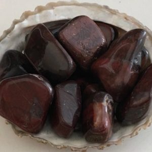 Shop Tumbled Tiger Eye Crystals & Pocket Stones! Red Tiger Eye medium  tumbled stones, Stimulating Stone,  Healing Stones, Chakra Stones, Spiritual Stone, Healing Crystals | Natural genuine stones & crystals in various shapes & sizes. Buy raw cut, tumbled, or polished gemstones for making jewelry or crystal healing energy vibration raising reiki stones. #crystals #gemstones #crystalhealing #crystalsandgemstones #energyhealing #affiliate #ad