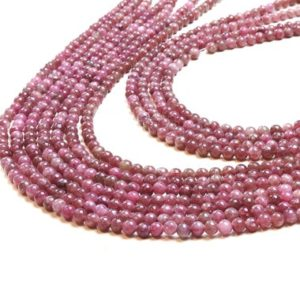 "Shop Tourmaline Round Beads! Chinese tourmaline,round beads,semiprecious beads,gemstone beads,tourmaline beads,stone beads,natural tourmaline beads  – 16"" Full Strand 
