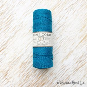 Shop Hemp Twine! Turquoise Hemp, Premium Quality Micro Hemp Cord .5mm / #10 / 205ft, Bright Blue Hemp Jewelry Cord Macrame Jewelry String Hemp String (HC071) | Shop jewelry making and beading supplies, tools & findings for DIY jewelry making and crafts. #jewelrymaking #diyjewelry #jewelrycrafts #jewelrysupplies #beading #affiliate #ad