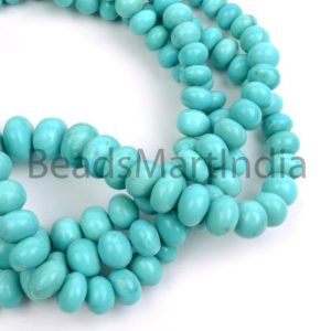 Shop Turquoise Rondelle Beads! Turquoise Plain Smooth Rondelle Gemstone Beads, Turquoise Rondelle Shape Beads, Natural Turquoise Plain Beads, Turquoise Smooth Beads   Natural genuine rondelle Turquoise beads for beading and jewelry making.  #jewelry #beads #beadedjewelry #diyjewelry #jewelrymaking #beadstore #beading #affiliate #ad