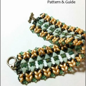 Shop Jewelry Making Tutorials! Tutorial, Beading pattern, beading tutorial, beaded bracelet pattern, superduo bead patterns, DIY jewelry, PDF, kheop, seed beads | Shop jewelry making and beading supplies, tools & findings for DIY jewelry making and crafts. #jewelrymaking #diyjewelry #jewelrycrafts #jewelrysupplies #beading #affiliate #ad