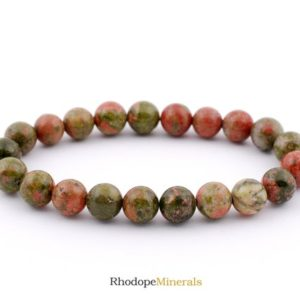 Shop Unakite Jewelry! 8mm Unakite Bracelet, Unakite Bracelets 8 mm, Unakite Bracelets, Unakite Bracelet, Unakite Beaded, Unakite Crystals, Unakite Minerals Gift | Natural genuine Unakite jewelry. Buy crystal jewelry, handmade handcrafted artisan jewelry for women.  Unique handmade gift ideas. #jewelry #beadedjewelry #beadedjewelry #gift #shopping #handmadejewelry #fashion #style #product #jewelry #affiliate #ad