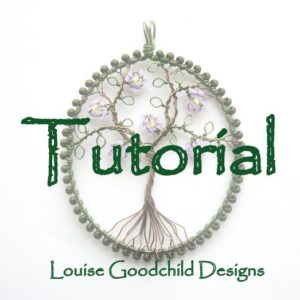 Shop Jewelry Making Tutorials! Wire tree tutorial, necklace tutorial, make your own, wire wrap tutorial, beading tutorial, INSTANT DOWNLOAD, wire tutorial, tree of life | Shop jewelry making and beading supplies, tools & findings for DIY jewelry making and crafts. #jewelrymaking #diyjewelry #jewelrycrafts #jewelrysupplies #beading #affiliate #ad