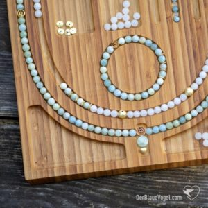Shop Bead Boards! Wooden Mala Bead Design Board for Yoga Malas, Necklaces, Bracelets and other Jewelry Design | For necklaces up to 44 inch length (110 cm) | Shop jewelry making and beading supplies, tools & findings for DIY jewelry making and crafts. #jewelrymaking #diyjewelry #jewelrycrafts #jewelrysupplies #beading #affiliate #ad