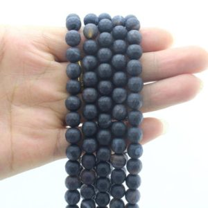 Shop Black Agate Beads! 8MM Faceted Agate Beads ,Gemstone Beads ,Round Agate beads ,DIY agate beads , agate beads wholesale beads  –EB338 | Natural genuine beads Agate beads for beading and jewelry making.  #jewelry #beads #beadedjewelry #diyjewelry #jewelrymaking #beadstore #beading #affiliate #ad