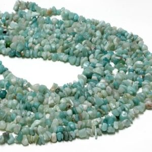 "Shop Amazonite Chip & Nugget Beads! Natural amazonite chips,natural gemstone beads,semiprecious beads,loose beads,chip beads,long strand beads,diy supplies – Full 32"" Strand 