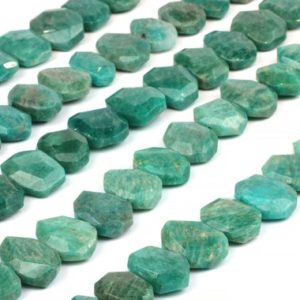 "Shop Amazonite Chip & Nugget Beads! Natural Russia Amazonite beads,nugget beads,gemstone beads,center drilled beads,faceted beads.semiprecious beads sale – 16"" Strand 