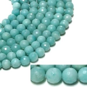"Shop Amazonite Bead Shapes! Amazonite beads,loose stone beads,gemstone beads,natural gem beads,Amazonite strands,wholesale beads,12mm – AA Quality – 16"" Strand 