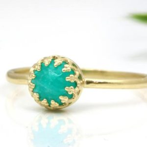 Shop Amazonite Jewelry! Amazonite ring,gold ring,delicate rings,stacking ring,gemstone ring,stack ring,tiny stone ring,tiny ring,Stackable ring | Natural genuine Amazonite jewelry. Buy crystal jewelry, handmade handcrafted artisan jewelry for women.  Unique handmade gift ideas. #jewelry #beadedjewelry #beadedjewelry #gift #shopping #handmadejewelry #fashion #style #product #jewelry #affiliate #ad
