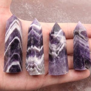 Shop Amethyst Stones & Crystals! Natural Amethyst Crystal Quartz Tower.Crystal Wedding Decor,Obelisk Amethyst Wands. Cuspidal Crystal Tower/Wands.Decor Crystal Quartz Tower | Natural genuine stones & crystals in various shapes & sizes. Buy raw cut, tumbled, or polished gemstones for making jewelry or crystal healing energy vibration raising reiki stones. #crystals #gemstones #crystalhealing #crystalsandgemstones #energyhealing #affiliate #ad