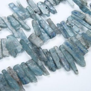 Shop Apatite Bead Shapes! 15.9 inch Natural Polished shiny blue apatite high quality crystal beads Wholesale crystal 22~35×5~8mm | Natural genuine other-shape Apatite beads for beading and jewelry making.  #jewelry #beads #beadedjewelry #diyjewelry #jewelrymaking #beadstore #beading #affiliate #ad