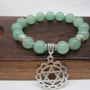 Shop Aventurine Bracelets! Green Aventurine Bracelet Heart Chakra Bracelet Money Bracelet Healing Yoga Green Aventurine Bracelet Green Aventurine Good Luck Bracelet | Natural genuine Aventurine bracelets. Buy crystal jewelry, handmade handcrafted artisan jewelry for women.  Unique handmade gift ideas. #jewelry #beadedbracelets #beadedjewelry #gift #shopping #handmadejewelry #fashion #style #product #bracelets #affiliate #ad