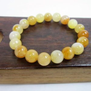 Shop Aventurine Bracelets! Yellow Aventurine Bracelet Yellow Gemstone Bracelet Solar Plexus Chakra Bracelet Yellow Aventurine Meditation Yoga Bracelet Energy Bracelet | Natural genuine Aventurine bracelets. Buy crystal jewelry, handmade handcrafted artisan jewelry for women.  Unique handmade gift ideas. #jewelry #beadedbracelets #beadedjewelry #gift #shopping #handmadejewelry #fashion #style #product #bracelets #affiliate #ad