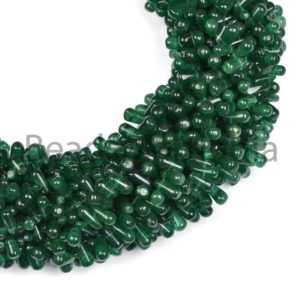 Shop Aventurine Bead Shapes! Green Aventurine Plain Side Drop Beads, Smooth Tear Drop Beads,Plain Beads,Green Aventurine Beads,Natural Green Aventurine Smooth Beads | Natural genuine other-shape Aventurine beads for beading and jewelry making.  #jewelry #beads #beadedjewelry #diyjewelry #jewelrymaking #beadstore #beading #affiliate #ad