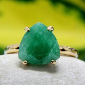 delicate stone ring,aventurine ring,green gemstone ring,gold ring,stacking ring,gold stack ring | Natural genuine Aventurine rings, simple unique handcrafted gemstone rings. #rings #jewelry #shopping #gift #handmade #fashion #style #affiliate #ad