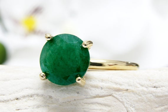 Aventurine Ring,gold Stack Ring,thin Stackable Ring,stack Stone Ring,gold Filled Rings,green Ring