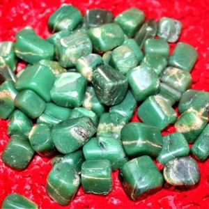 Shop Tumbled Aventurine Crystals & Pocket Stones! 100 Gr Natural Green Aventurine Reiki Healing Power Awaking Meditation Metaphysical Power Tumbled Pebble | Natural genuine stones & crystals in various shapes & sizes. Buy raw cut, tumbled, or polished gemstones for making jewelry or crystal healing energy vibration raising reiki stones. #crystals #gemstones #crystalhealing #crystalsandgemstones #energyhealing #affiliate #ad