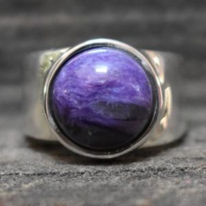 Shop Charoite Rings! natural charoite ring,925 silver ring,mens charoite ring,mens ring,unisex ring,charoite ring,charoite gemstone ring,gemstone ring | Natural genuine Charoite mens fashion rings, simple unique handcrafted gemstone men's rings, gifts for men. Anillos hombre. #rings #jewelry #crystaljewelry #gemstonejewelry #handmadejewelry #affiliate #ad