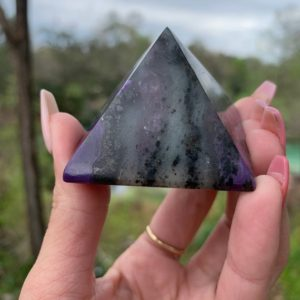 Shop Charoite Stones & Crystals! Charoite pyramid, charoite, fossil, minerals | Natural genuine stones & crystals in various shapes & sizes. Buy raw cut, tumbled, or polished gemstones for making jewelry or crystal healing energy vibration raising reiki stones. #crystals #gemstones #crystalhealing #crystalsandgemstones #energyhealing #affiliate #ad