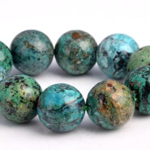"Shop Chrysocolla Round Beads! 12MM Genuine Chrysocolla Beads Grade AAA Natural Gemstone Half Strand Round Loose Beads 7.5"" BULK LOT 1,3,5,10 and 50 (102748h-599) 