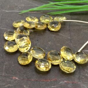 Shop Citrine Round Beads! Natural Citrine 10mm Briolette Round Gemstone Beads / Approx 19 Pieces On 4 Inch Long Strand / Jbc-et-154863 | Natural genuine round Citrine beads for beading and jewelry making.  #jewelry #beads #beadedjewelry #diyjewelry #jewelrymaking #beadstore #beading #affiliate #ad