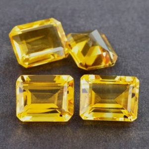 Shop Citrine Shapes! 7x9mm Natural Yellow Citrine Faceted Octagon AAA+ Grade Loose Gemstone – 100% Natural Yellow Citrine Gemstone – Citrine Gemstoen -CIYLO-1158 | Natural genuine stones & crystals in various shapes & sizes. Buy raw cut, tumbled, or polished gemstones for making jewelry or crystal healing energy vibration raising reiki stones. #crystals #gemstones #crystalhealing #crystalsandgemstones #energyhealing #affiliate #ad