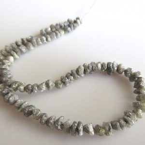 Shop Diamond Chip & Nugget Beads! 4 Inch 3mm To 4mm Natural Grey Diamond Beads, Uncut Raw Diamond Beads, Rough Diamond Beads, Conflict Free Diamonds SKU-DdG211 | Natural genuine chip Diamond beads for beading and jewelry making.  #jewelry #beads #beadedjewelry #diyjewelry #jewelrymaking #beadstore #beading #affiliate #ad