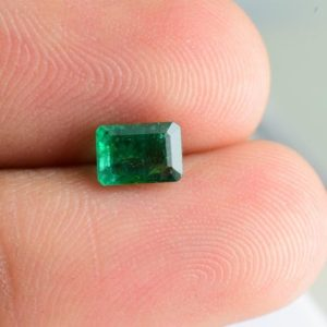 Shop Emerald Stones & Crystals! Natural Emerald Faceted 6x4x3.2 mm Octagon 0.68 cst 1 pc Loose Gemstone – 100% Natural Genuine Green Emerald Gemstone – EMGRN-1172 | Natural genuine stones & crystals in various shapes & sizes. Buy raw cut, tumbled, or polished gemstones for making jewelry or crystal healing energy vibration raising reiki stones. #crystals #gemstones #crystalhealing #crystalsandgemstones #energyhealing #affiliate #ad