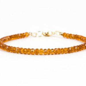 Shop Garnet Bracelets! Hessonite Bracelet, Garnet Handmade Bracelet, Delicate Bracelet, Handmade Gemstone Jewelry | Natural genuine Garnet bracelets. Buy crystal jewelry, handmade handcrafted artisan jewelry for women.  Unique handmade gift ideas. #jewelry #beadedbracelets #beadedjewelry #gift #shopping #handmadejewelry #fashion #style #product #bracelets #affiliate #ad