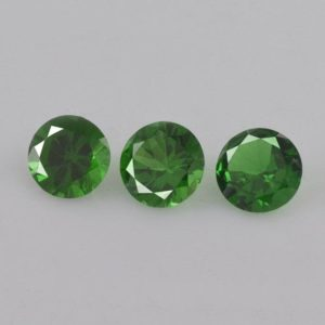 Shop Garnet Shapes! 0.70 cts Natural Green Tsavorite Garnet 4x4x2.3 mm Faceted Round  3 Pieces Loose Gemstone – 100% Natural Tsavorite Gemstone – TSGRN-1156 | Natural genuine stones & crystals in various shapes & sizes. Buy raw cut, tumbled, or polished gemstones for making jewelry or crystal healing energy vibration raising reiki stones. #crystals #gemstones #crystalhealing #crystalsandgemstones #energyhealing #affiliate #ad