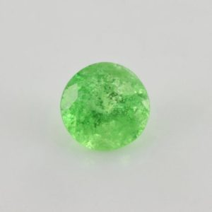 Shop Garnet Shapes! 0.93 cts Natural Tsavorite Green Garnet 5.75×5.75×4.10 mm Faceted Round Loose Gemstone – 100% Natural Tsavorite Garnet Gemstone – TSGRN-1010 | Natural genuine stones & crystals in various shapes & sizes. Buy raw cut, tumbled, or polished gemstones for making jewelry or crystal healing energy vibration raising reiki stones. #crystals #gemstones #crystalhealing #crystalsandgemstones #energyhealing #affiliate #ad