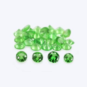 Shop Garnet Shapes! 2x2x1.3 mm Natural Green Tsavorite Garnet Faceted Round 30 Pcs Loose Gemstone – 100% Natural Tsavorite Green Garnet Gemstone – TSGRN-1208 | Natural genuine stones & crystals in various shapes & sizes. Buy raw cut, tumbled, or polished gemstones for making jewelry or crystal healing energy vibration raising reiki stones. #crystals #gemstones #crystalhealing #crystalsandgemstones #energyhealing #affiliate #ad