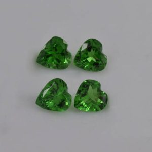 Shop Garnet Shapes! 5x5x3.2 mm Natural Green Tsavorite Garnet Faceted Heart AAA+ Grade Loose Gemstone – 100% Natural Green Garnet Gemstone – TSGRN-1092 | Natural genuine stones & crystals in various shapes & sizes. Buy raw cut, tumbled, or polished gemstones for making jewelry or crystal healing energy vibration raising reiki stones. #crystals #gemstones #crystalhealing #crystalsandgemstones #energyhealing #affiliate #ad
