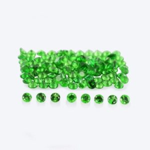 Shop Garnet Shapes! Natural Green Tsavorite Garnet 1.25×1.25×0.8 Mm Faceted Round Loose Gemstone – 100% Natural Tsavorite Green Garnet Gemstone – Tsgrn-1203 | Natural genuine stones & crystals in various shapes & sizes. Buy raw cut, tumbled, or polished gemstones for making jewelry or crystal healing energy vibration raising reiki stones. #crystals #gemstones #crystalhealing #crystalsandgemstones #energyhealing #affiliate #ad