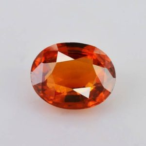 Shop Garnet Shapes! Natural Hessonite Garnet 11×8.8×5.4 mm Faceted Oval 4.3 cts 1 Piece Loose Gemstone – 100% Natural Hessonite Garnet Gemstone – GOORG-1042 | Natural genuine stones & crystals in various shapes & sizes. Buy raw cut, tumbled, or polished gemstones for making jewelry or crystal healing energy vibration raising reiki stones. #crystals #gemstones #crystalhealing #crystalsandgemstones #energyhealing #affiliate #ad