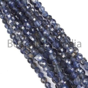 Shop Iolite Faceted Beads! iolite Faceted rondelle Gemstone Beads, iolite Faceted Gemstone Beads, iolite rondelle Beads, iolite Faceted Beads, iolite Beads, AA Quality | Natural genuine faceted Iolite beads for beading and jewelry making.  #jewelry #beads #beadedjewelry #diyjewelry #jewelrymaking #beadstore #beading #affiliate #ad