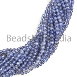 Shop Iolite Beads! iolite plain smooth round Gemstone Beads, iolite plain Gemstone Beads, iolite round Beads, iolite smooth Beads, iolite Beads, AA Quality | Natural genuine beads Iolite beads for beading and jewelry making.  #jewelry #beads #beadedjewelry #diyjewelry #jewelrymaking #beadstore #beading #affiliate #ad