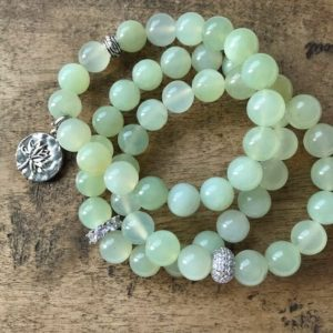 Shop Jade Bracelets! Jade gemstone bracelet/ Lotus flower charm/ meditation/ emotional balance/ bracelet | Natural genuine Jade bracelets. Buy crystal jewelry, handmade handcrafted artisan jewelry for women.  Unique handmade gift ideas. #jewelry #beadedbracelets #beadedjewelry #gift #shopping #handmadejewelry #fashion #style #product #bracelets #affiliate #ad