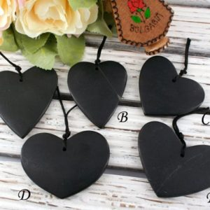 Shop Jade Pendants! Matte Black Jade Heart shape pendants (ETP00368) Unique jewelry/Vintage jewelry/Gemstone pendants | Natural genuine Jade pendants. Buy crystal jewelry, handmade handcrafted artisan jewelry for women.  Unique handmade gift ideas. #jewelry #beadedpendants #beadedjewelry #gift #shopping #handmadejewelry #fashion #style #product #pendants #affiliate #ad