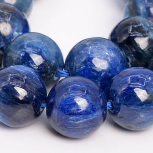Shop Kyanite Round Beads! 19 Pcs – 10MM Blue Kyanite Beads South Africa Grade A Genuine Natural Round Gemstone Loose Beads (109044h) | Natural genuine round Kyanite beads for beading and jewelry making.  #jewelry #beads #beadedjewelry #diyjewelry #jewelrymaking #beadstore #beading #affiliate #ad