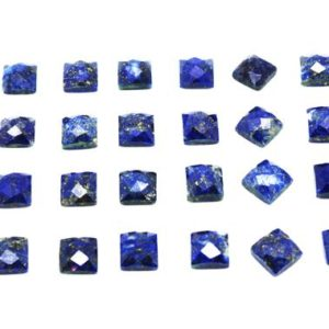 Shop Lapis Lazuli Stones & Crystals! Natural Lapis lazuli,small cabs,gemstone cabochons,gemstones wholesale,semiprecious gems,Lapis stone,square gems – AA Quality | Natural genuine stones & crystals in various shapes & sizes. Buy raw cut, tumbled, or polished gemstones for making jewelry or crystal healing energy vibration raising reiki stones. #crystals #gemstones #crystalhealing #crystalsandgemstones #energyhealing #affiliate #ad