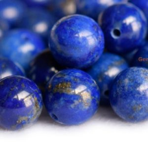 Shop Lapis Lazuli Round Beads! 4PCS 8mm/10mm natural genuine Lapis lazuli round single half hole drilled beads HGHO | Natural genuine round Lapis Lazuli beads for beading and jewelry making.  #jewelry #beads #beadedjewelry #diyjewelry #jewelrymaking #beadstore #beading #affiliate #ad