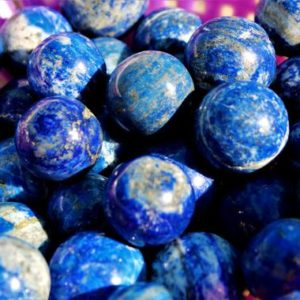 Shop Lapis Lazuli Shapes! 100 Gr Blue Lapis Lazuli 25MM Crystal Healing Metaphysical Power Sphere Ball | Natural genuine stones & crystals in various shapes & sizes. Buy raw cut, tumbled, or polished gemstones for making jewelry or crystal healing energy vibration raising reiki stones. #crystals #gemstones #crystalhealing #crystalsandgemstones #energyhealing #affiliate #ad