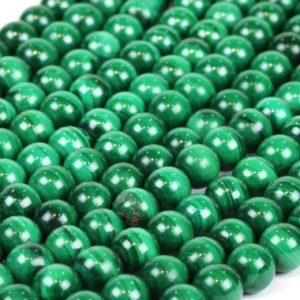 Shop Malachite Round Beads! Gemstone beads,Malachite beads,round beads,6mm beads,green malachite,green beads,loose beads,semiprecious beads,jewelry making,AA Quality | Natural genuine round Malachite beads for beading and jewelry making.  #jewelry #beads #beadedjewelry #diyjewelry #jewelrymaking #beadstore #beading #affiliate #ad