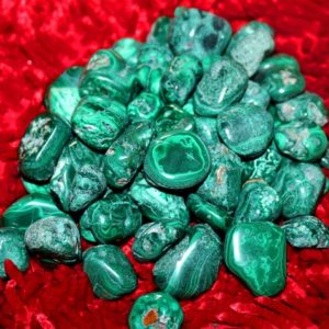 Shop Tumbled Malachite Crystals & Pocket Stones! 100% Pure 2nd Quality Green Malachite 100Gr Healing Reiki Power Charged Tumbled | Natural genuine stones & crystals in various shapes & sizes. Buy raw cut, tumbled, or polished gemstones for making jewelry or crystal healing energy vibration raising reiki stones. #crystals #gemstones #crystalhealing #crystalsandgemstones #energyhealing #affiliate #ad