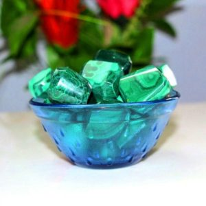 Shop Tumbled Malachite Crystals & Pocket Stones! Natural 100% Pure Green Malachite 100Gr Healing Reiki Power Charged Tumbled | Natural genuine stones & crystals in various shapes & sizes. Buy raw cut, tumbled, or polished gemstones for making jewelry or crystal healing energy vibration raising reiki stones. #crystals #gemstones #crystalhealing #crystalsandgemstones #energyhealing #affiliate #ad