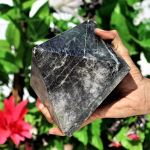 Shop Moonstone Shapes! Huge Natural Black Moonstone 140MM Chakra Stone Metaphysical Healing Power Reiki Gemstone Pyramid | Natural genuine stones & crystals in various shapes & sizes. Buy raw cut, tumbled, or polished gemstones for making jewelry or crystal healing energy vibration raising reiki stones. #crystals #gemstones #crystalhealing #crystalsandgemstones #energyhealing #affiliate #ad